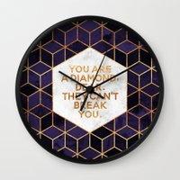 You are a diamond, dear. Wall Clock