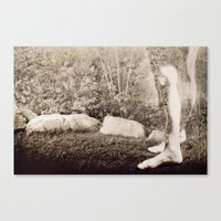 I Can't See You, But I K… Canvas Print