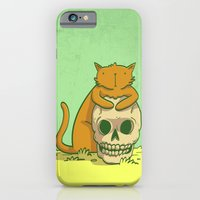 iPhone & iPod Case featuring Kitty Hugs by Donta Santistevan
