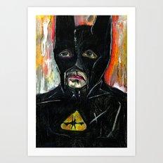 Bat Art Print