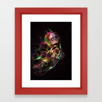 Vivid Skulls Of Life Framed Art Print