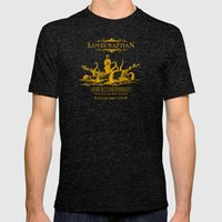 Lovecraftian Whiskey Mens Fitted Tee Tri-Black SMALL