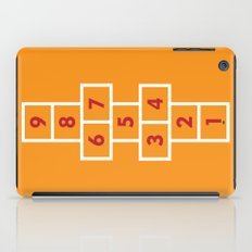 Hopscotch Orange iPad Case