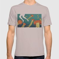 jellyfish Mens Fitted Tee Cinder SMALL