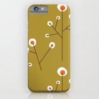 Retro Green Pattern Design iPhone 6 Slim Case