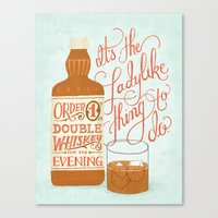 Some Good Advice Canvas Print
