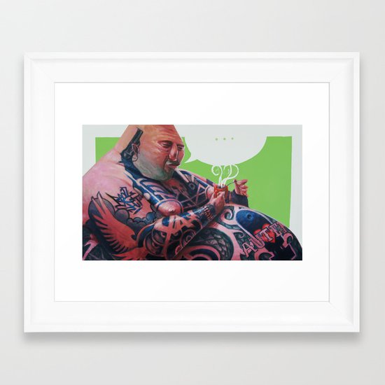 autentico Framed Art Print