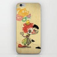 The Clown / Balloons iPhone & iPod Skin