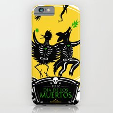 Dia de los Muertos Roadrunner and Coyote iPhone 6 Slim Case