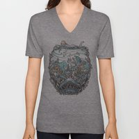 What Lurks Beneath Unisex V-Neck