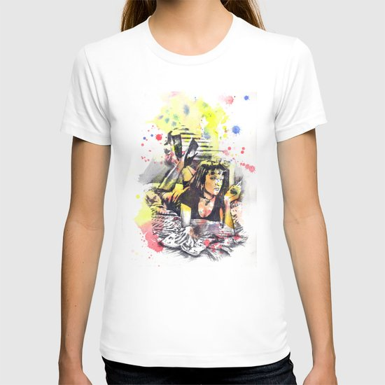 Uma Thurman From Pulp Fiction T-shirt