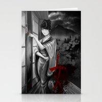 Kunoichi 2 Of 4 Stationery Cards