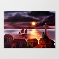 A New World Canvas Print