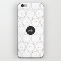 Hello Pets no.3 iPhone & iPod Skin