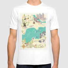 The Princess Bride Disco… Mens Fitted Tee White SMALL