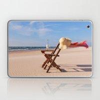 Windy Beach Day Laptop & iPad Skin