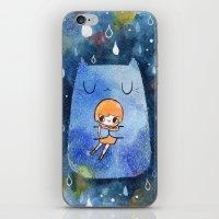 Cat Hug iPhone & iPod Skin