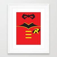 Robin The Boy Wonder Framed Art Print