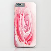 iPhone Cases featuring Rose and Tears by die Farbenfluesterin