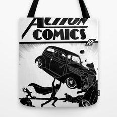 Action Comics #1 Redux Tote Bag