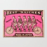 Best Matches - Japan Canvas Print