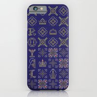 iPhone & iPod Case featuring Royal [pattern] by Tristan Bowersox McQueen