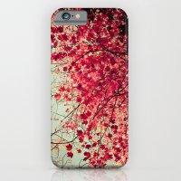 Autumn Inkblot iPhone 6 Slim Case