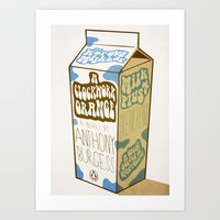 Milk Plus Art Print