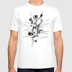 eye & leaf SMALL Mens Fitted Tee White