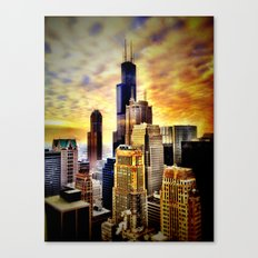 Chicago Fire Canvas Print