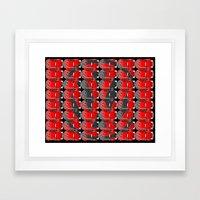 VW Logo Framed Art Print