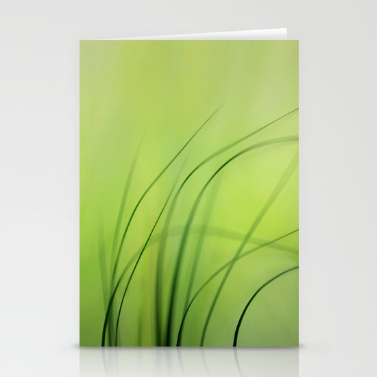 Sway  (Grass) Stationery Card