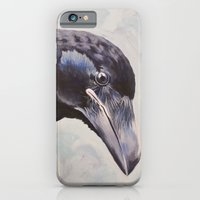 Raven Portrait iPhone 6 Slim Case