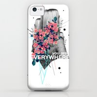 iPhone 5c Cases featuring You Are Everywhere by Frank Moth