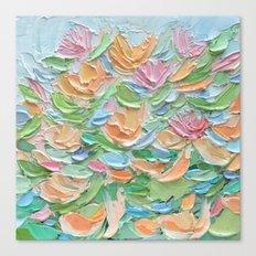 Nymphaea Aurora Canvas Print