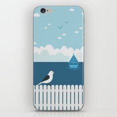 Sitting on the Fence iPhone & iPod Skin
