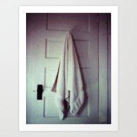 homemade study no. 17 (towel) Art Print