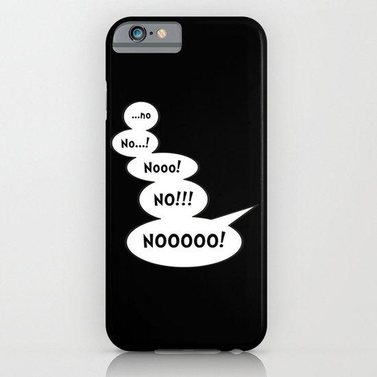 Comic book NO iPhone & iPod Case