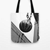 Urban Alley Ornament Tote Bag