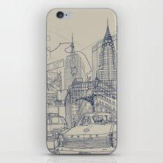 New York! iPhone & iPod Skin