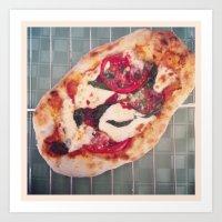 Pizza Art Print