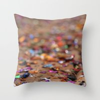 Glitter II Throw Pillow