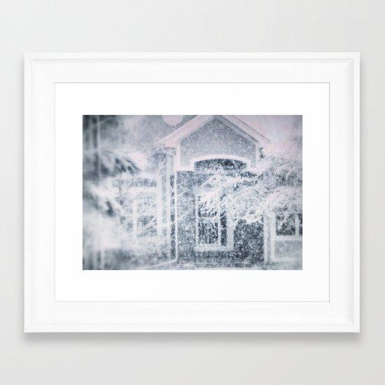 winter tale Framed Art Print