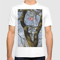 Victory V Mens Fitted Tee White SMALL