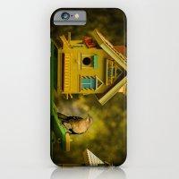 iPhone & iPod Case featuring Birds House by LudaNayvelt
