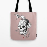 Skull One B Tote Bag