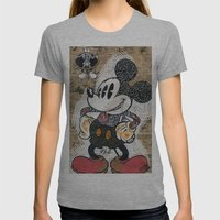 t(ri)opolino Womens Fitted Tee Athletic Grey SMALL