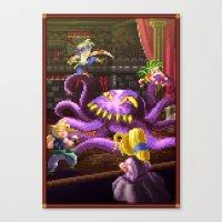 Pixel Art Series 3 : Oct… Canvas Print