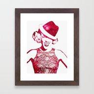 P!nk Framed Art Print