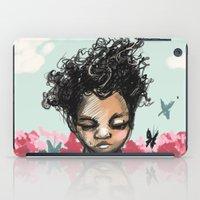 The Most Beautiful Flowe… iPad Case